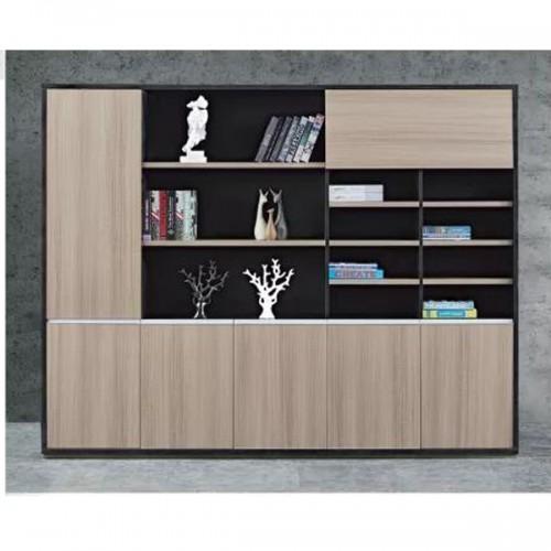 老板办公文件柜板式展示书柜采购H-6124#
