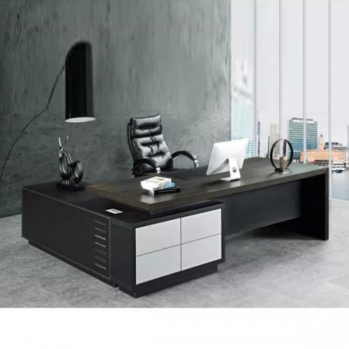环保板材总裁台 时尚老板经理桌定制B-1124#