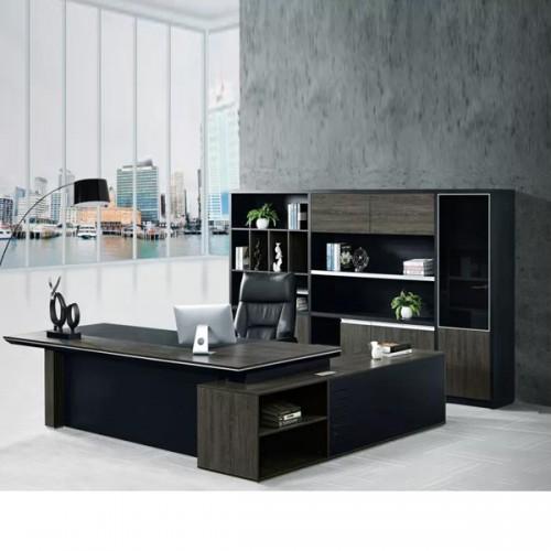 板式家具定制品牌总裁办公桌采购价格B-1432#