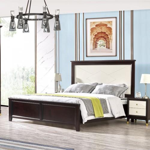 现代板式套房双人床 三门衣柜床头柜组合家具 MK-805