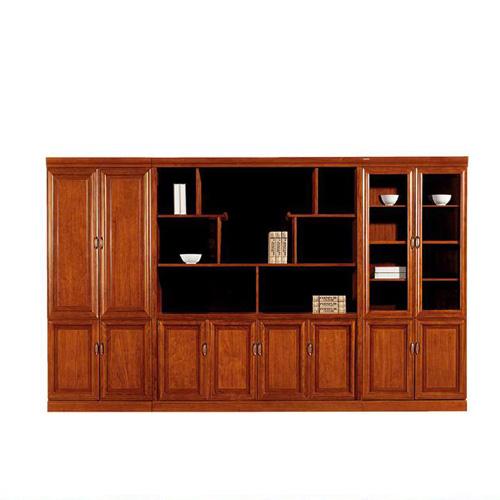环保油漆文件柜 时尚书柜展示柜定制LY2012-1#
