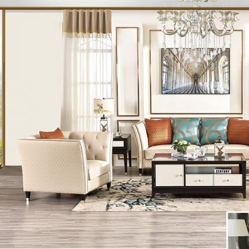 客厅轻奢休闲沙发真皮沙发品牌厂家   亚特兰大