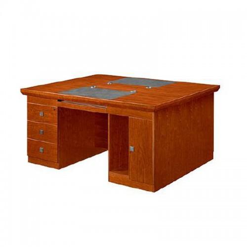 油漆双人办公桌实木二人电脑桌LT1616Z#