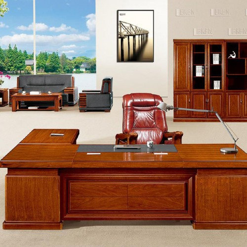 办公家具班台油漆老板桌 LT2816-1Z#