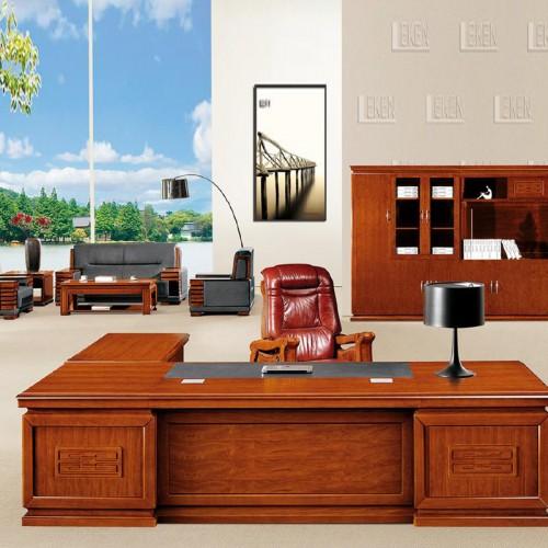 品牌高档油漆班台总裁办公桌LT3882Z#