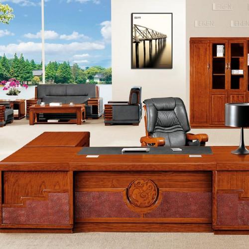时尚高端油漆老板桌班台桌LT3285Z#