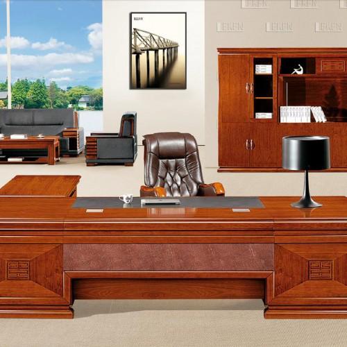 办公家具实木班台总裁办公桌批发价格 LT3281Z#