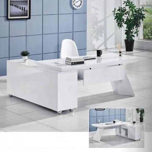 现代板式老板桌定制价格 B-08(可定制)#
