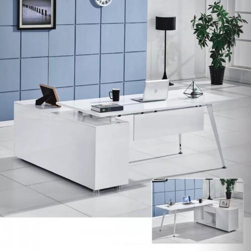 环保板材工作台 时尚老板经理桌 B-05(可定制)#