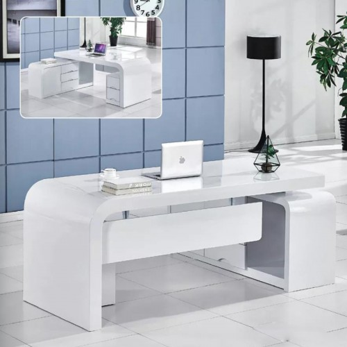 现代大气老板桌总裁桌生产厂家 B-03(可定制)#
