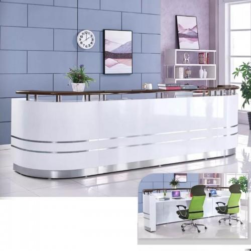 现代迎宾收银台吧台生产厂家 OL-007(可定制)#