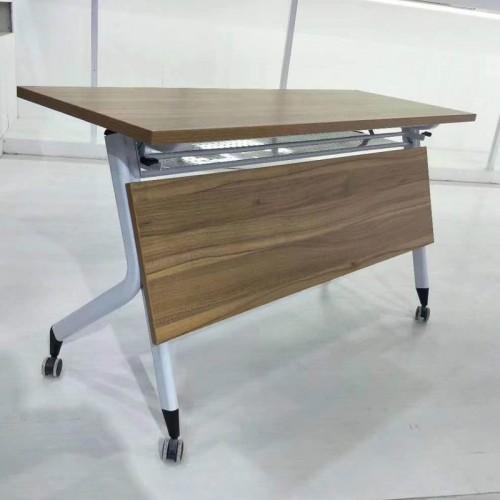 员工洽谈移动翻板桌培训阅览桌 004#