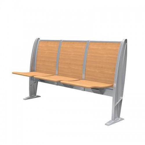 培训翻板椅连排长条桌椅批发厂家 005#