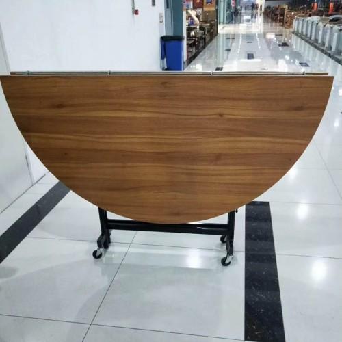 大圆桌可折叠餐桌家用 001#