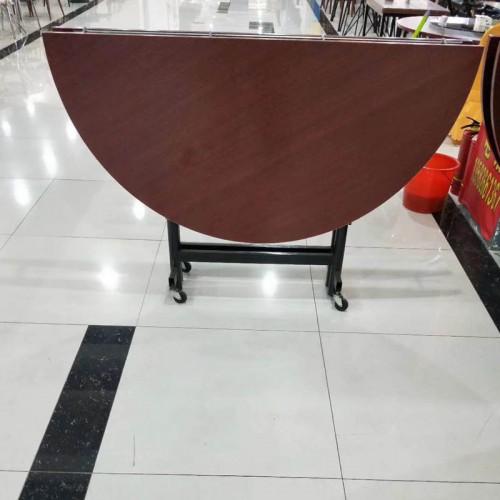 便携式圆形折叠餐桌家用吃饭桌子 003#