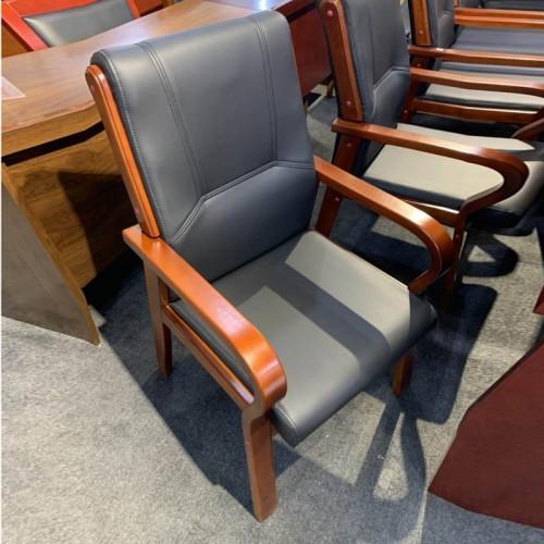 办公椅会议椅 实木接待椅厂家定制16#