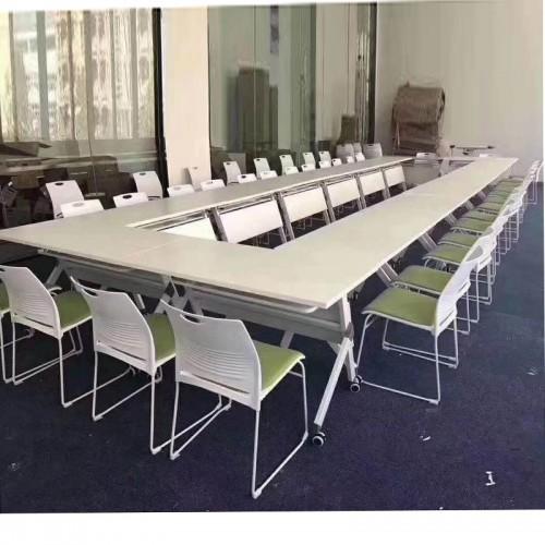 可拼接长条桌移动办公会议桌14#