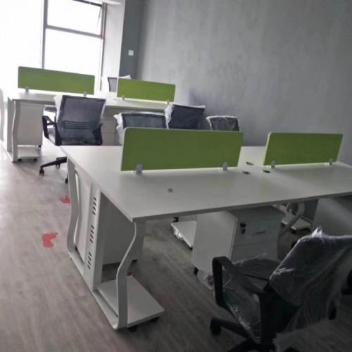 公司办公区屏风双人电脑桌31#