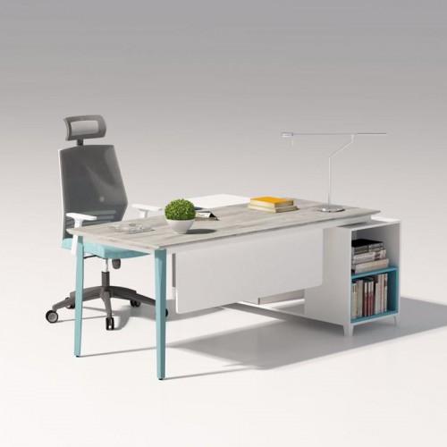 板式办公家具品牌 现代简约板式老板桌 19#