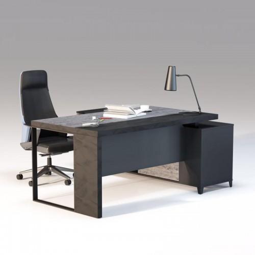现代简约老板办公桌板式经理台厂家20#