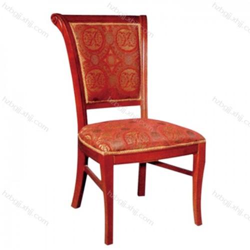 酒店软包餐椅餐厅饭店包厢布艺座椅05#