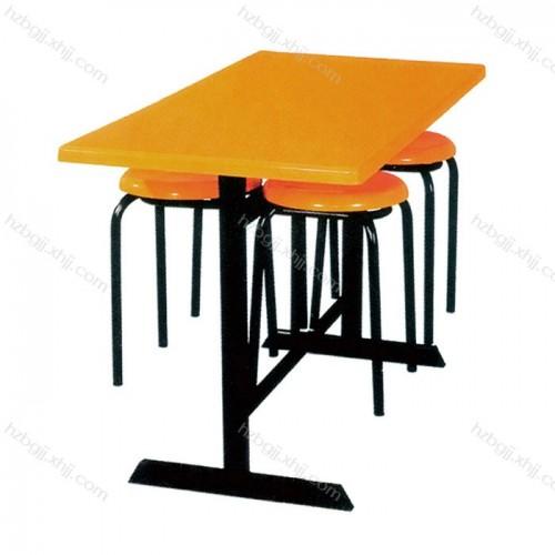 厂家直销分体式餐桌椅挂凳式餐桌椅17#
