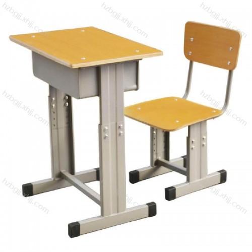 学生单人课桌椅厂家直销 005#