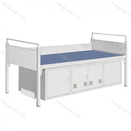 加厚带鞋柜铁床学生宿舍单层床11#