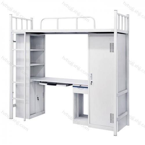 钢制公寓床学生上床下桌13#