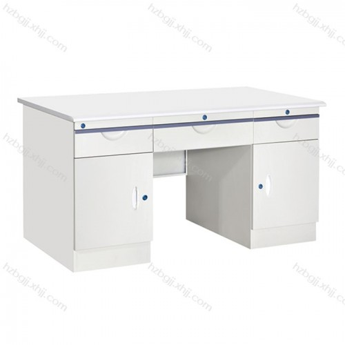 钢制办公桌铁皮电脑桌18#