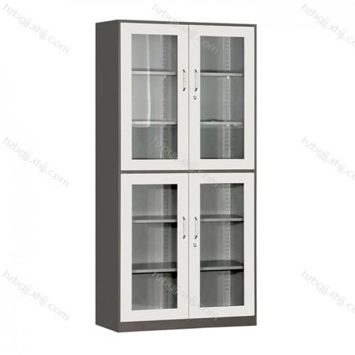 专业生产钢制文件柜上下玻璃平开柜11#