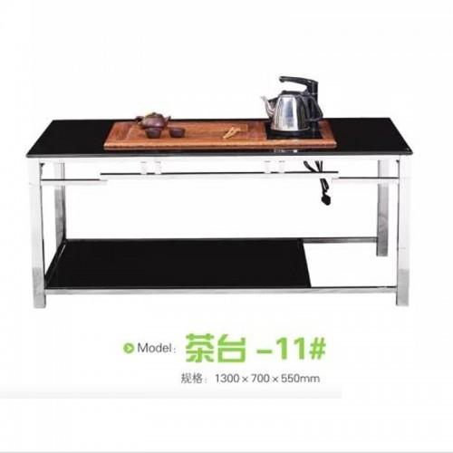 现代时尚不锈钢茶几泡茶桌  茶台-11#