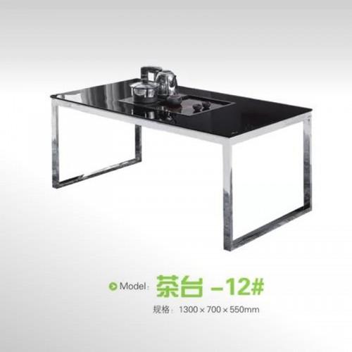 办公家具不锈钢茶几泡茶桌  茶台-12#