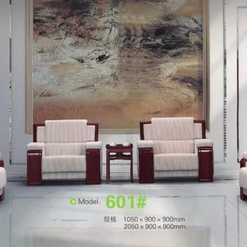 商务会客沙发单人布艺会议沙发  601#