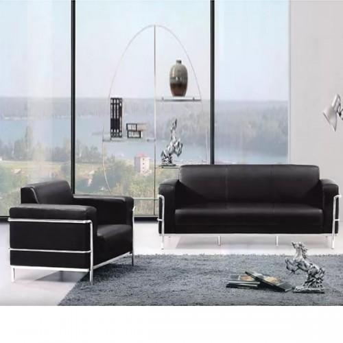 现代办公沙发 钢架休闲办公沙发定制176#