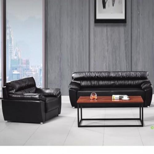 高档真皮办公沙发品牌定制1826#
