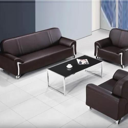 厂家定做真皮沙发休闲办公沙发005#