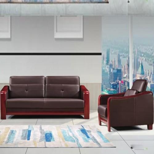 厂家促销接待沙发时尚真皮办公沙发626#