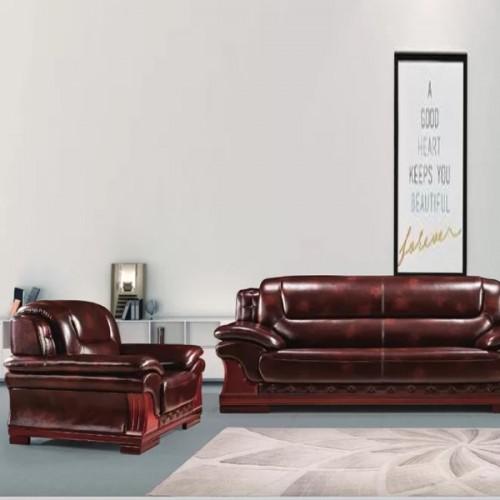 大气高端办公沙发真皮商务沙发定制926#