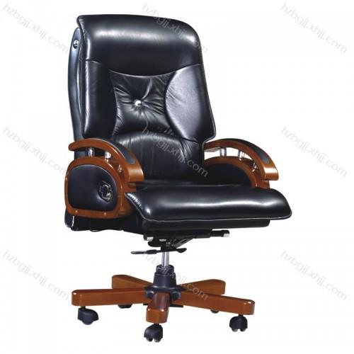 厂家供真皮办公椅应 电脑转椅 老板总裁椅15#