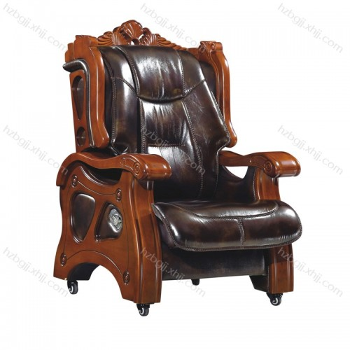 豪华移动老板椅 真皮大班椅 总裁椅28#