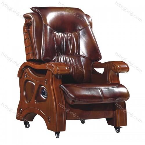 老板大班椅 四脚活动轮总裁办公椅30#