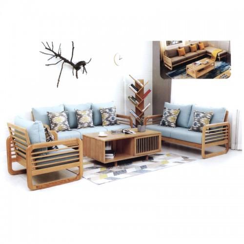 家用可拆洗布艺沙发 简约日式客厅家具 002-2#