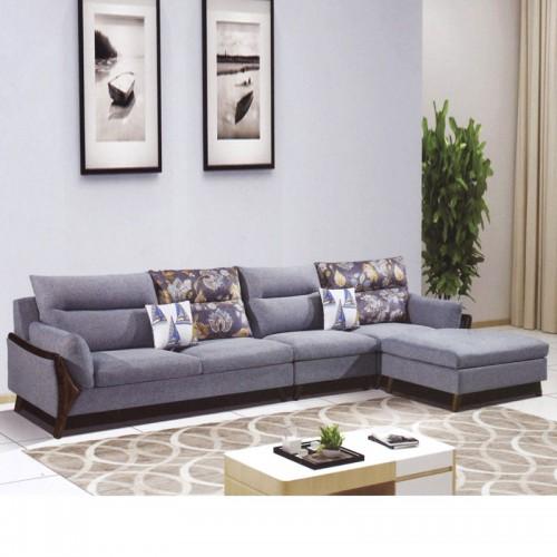 香河爱阁北欧时光家具厂家 转角沙发 沙发小北欧-4#