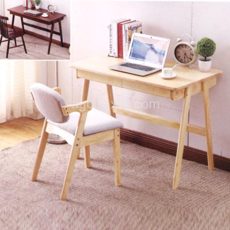 小户型实木书桌 置物写字台 ST12#