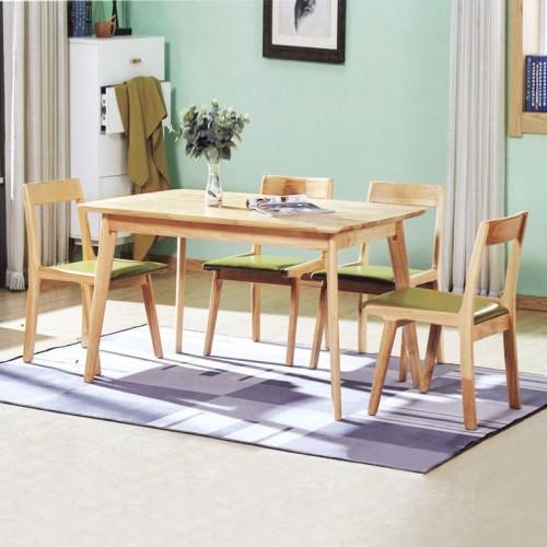 创意家用餐桌椅 全实木休闲家具 B-18#