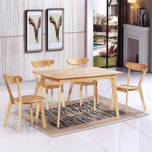 主题甜品店休闲桌椅 长条形餐桌 B-18#