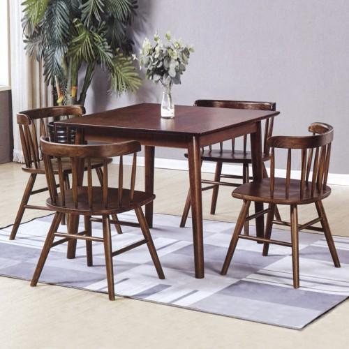 餐厅可定制桌椅 香河实木家具生产厂家 小方桌#