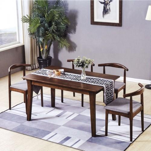 香河实木餐桌椅家具厂家直销  B-16#
