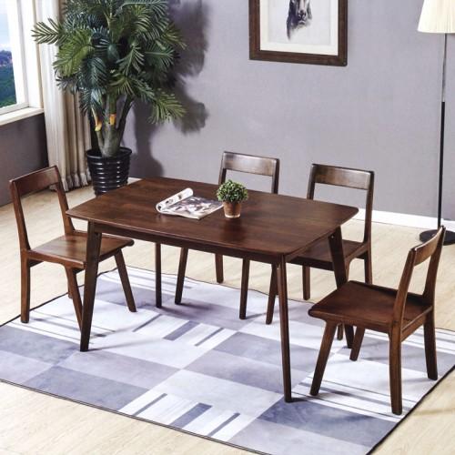 家用简美风格餐厅家具 四人位餐桌餐椅 B-18#